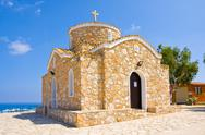 Stock Photo of Church of Ayios Ilias. Protaras