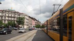 ANDRASSI LONGSHOT BUDAPEST 03 Stock Footage