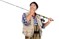 Fisherman - stock photo