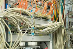 Network Hub Uplink in Data Center Kuvituskuvat