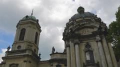 Ukraine, L'viv city  .Church Timelapse. May 28, 2014 Stock Footage