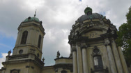 Stock Video Footage of Ukraine, L'viv city  .Church Timelapse. May 28, 2014