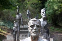 Memorial to the victims of communism Stock Photos