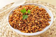 Stock Photo of cooked lentils