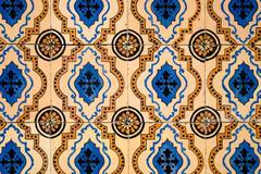Traditional Portuguese azulejos Stock Photos