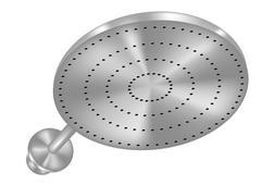shower head - stock illustration