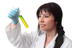Clinical scientific tests - stock photo