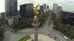 Stock Video Footage of Angel de la Independencia Monument 2