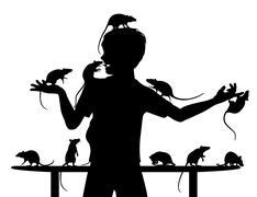 Rat boy Stock Illustration