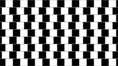 Optical illusion with distorted horizontal parallel lines 04 Stock Footage