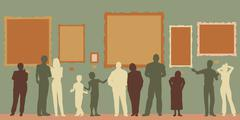 Stock Illustration of gallery color