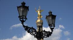 Berlin Victory column, UHD 4K Stock Footage