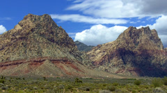 Mountains At Red Rock Canyon- Las Vegas NV Stock Footage