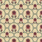 Seamless pattern - stock illustration