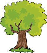 Stock Illustration of cartoon tree