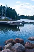 Skerry archipelago Stock Photos