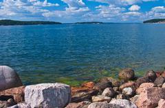 Skerry archipelago - stock photo