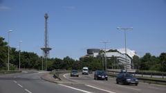 Berlin highway, UHD 4K Stock Footage