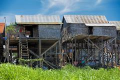 Cambodian everyday life Stock Photos