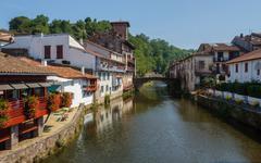 Saint-Jean-Pied-de-Port Stock Photos