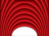 Stock Illustration of cool red arch background