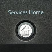services home sign - stock illustration