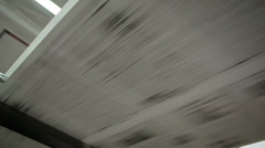 The printed machine does the newspaper - stock footage