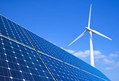 Stock Photo of renewable energy