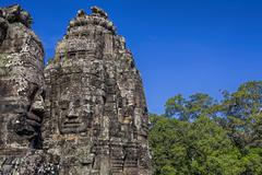 Angkor Archaeological Park - stock photo
