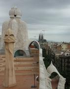 Work of art Gaudi Stock Photos