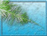Stock Illustration of winter fir