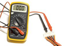 Alternating voltage Stock Photos