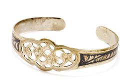 antiquarian bracelet - stock photo