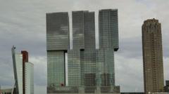 Rotterdam Rem Koolhaas Building - Timelapse Stock Footage