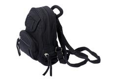 rucksack on white - stock photo
