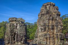 Angkor Archaeological Park Stock Photos
