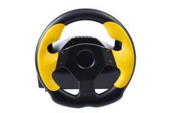 Wheel for computer on white Stock Photos