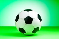 Sporting concept with football - stock photo
