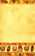 African national patterns Stock Illustration