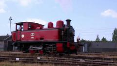 GOES, THE NETHERLANDS - MAY 31 2014: Railway to the past 2014. Stock Footage