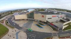 UK/Irish Supermarket Tesco Stock Footage