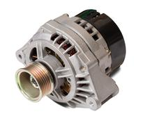 automotive power generating alternator - stock photo