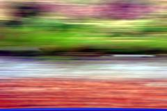 blur horizontal lines forming dynamic elegant background - stock photo