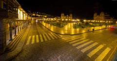 Cusco, Peru 4K – Timelapse - stock footage