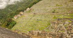 Machu Picchu Time lapse (Peru) Stock Footage