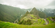 Stock Video Footage of Machu Picchu Timelapse 4K (Peru)