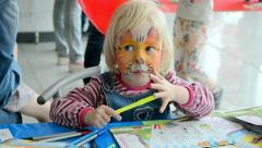International Children's day in Kiev, Ukraine. Stock Footage