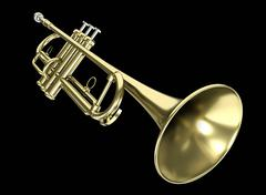 Trumpet - stock illustration
