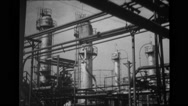 Factory machinery and boilers Stock Footage