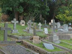 Old Cemetary - stock photo